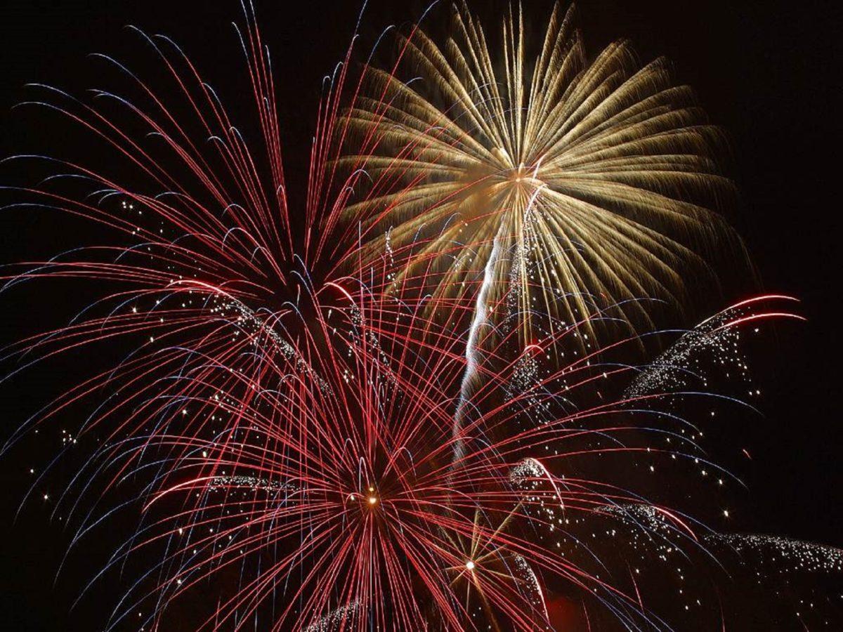 Feuerwerk-Bild
