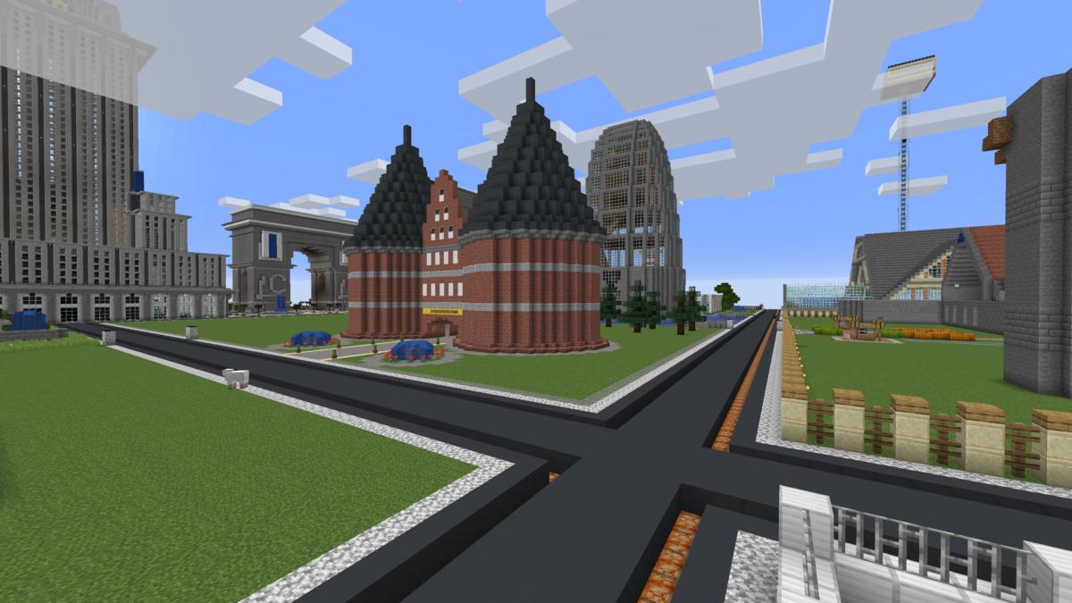 Neue Straßen in LachCraft