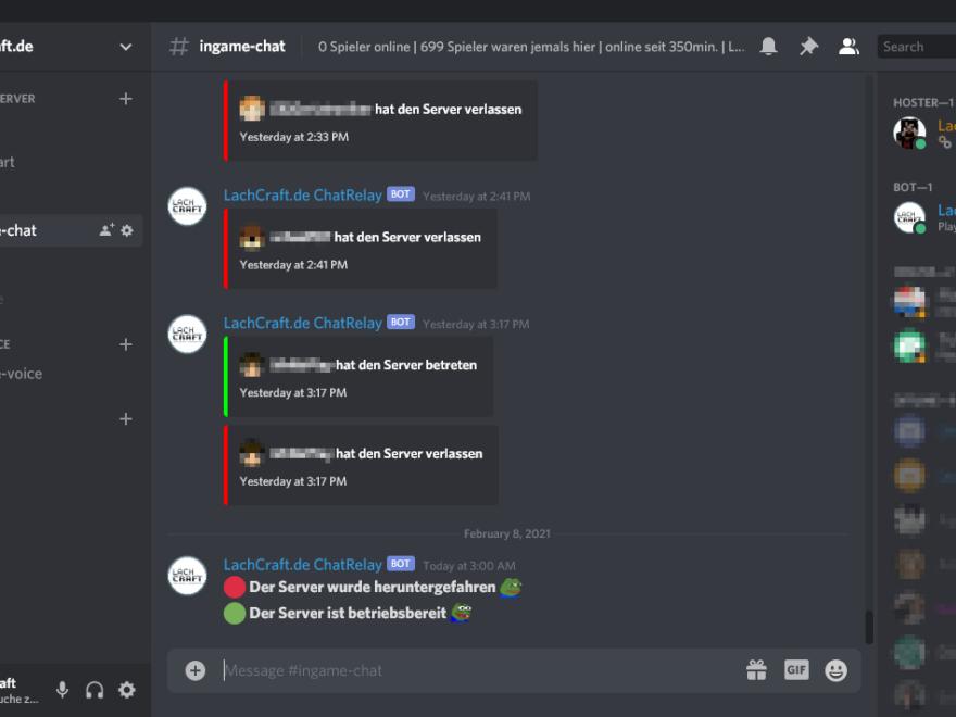 discord ingame chat